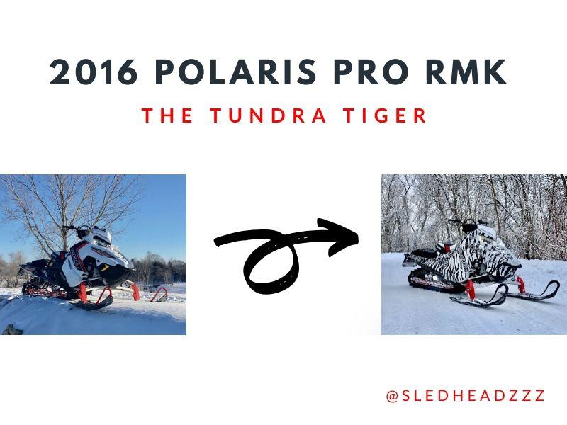 2016 Polaris Pro RMK