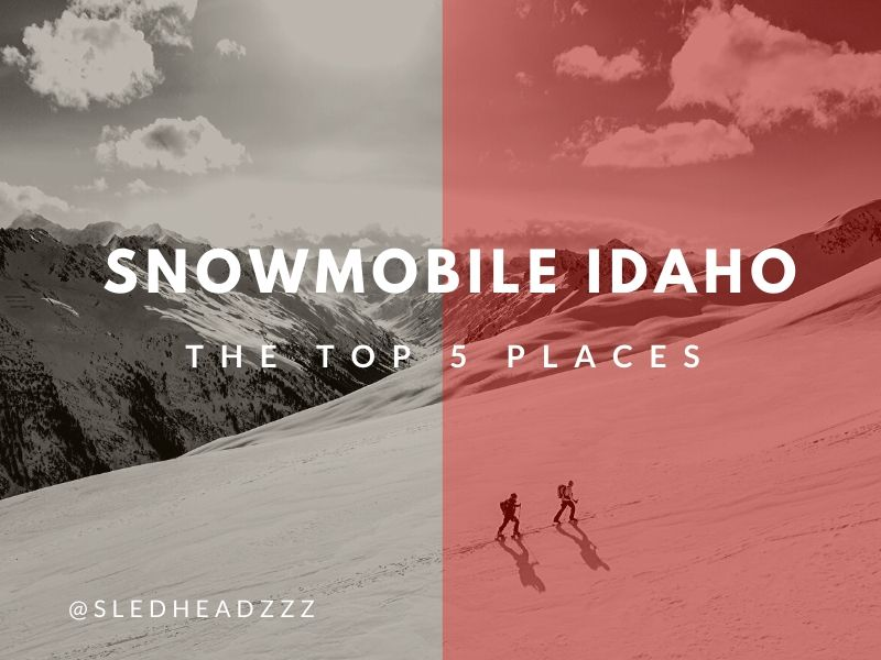 Snowmobile Idaho
