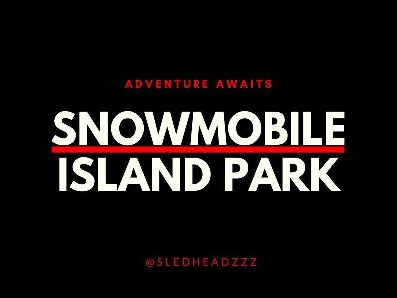 Snowmobile Island Park Idaho