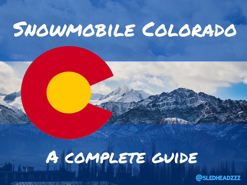 Best Snowmobiling in Colorado