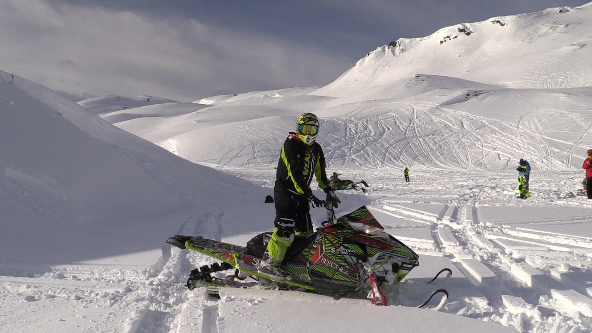 Snowmobile Sweden